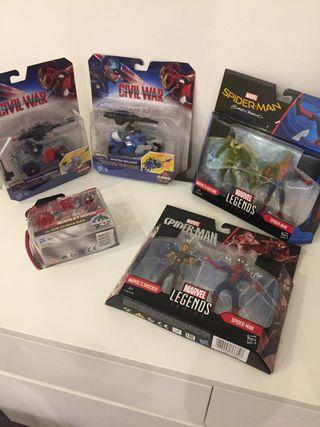 Pack juguetes Marvel Spiderman