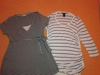 Camisetas premamá talla S