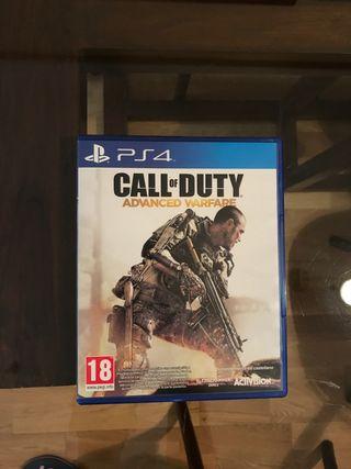 CoD Advanced Warfare PS4 segunda mano  España