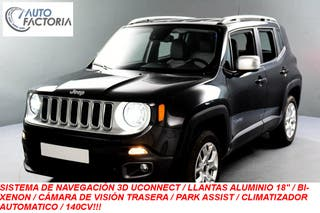 JEEP RENEGADE 4WD 2.0D 140CV LIMITED GPS