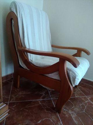 sillones madera provenzal