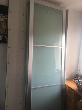 Puertas correderas de armario ikea pax de 150 x 236 de for Armario pax ikea puertas correderas