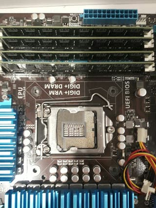 16 GB de Ram DDR3 4X4