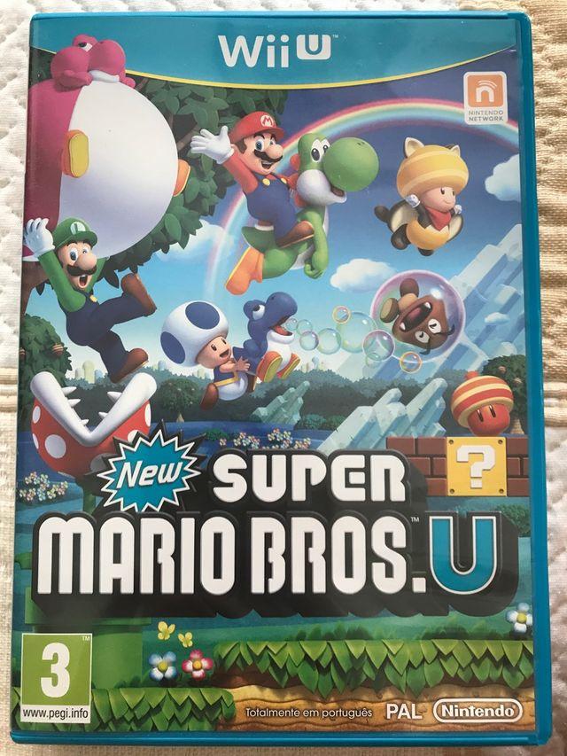 Juego Para La Wii U New Super Mario Bros Nuevo De Segunda Mano Por