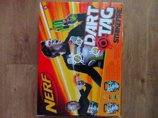 Nerf Dart Tag Strike fire