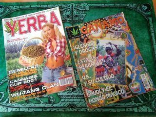 Revistas CAÑAMO y YERBA