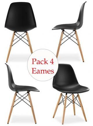Pack de 4 sillas Nordicas