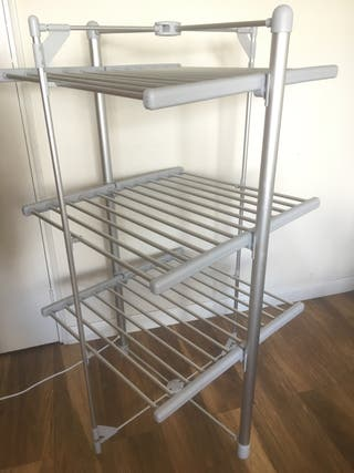 Electric dryer rack for clothes
