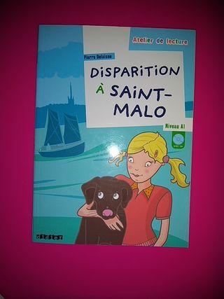 "Libro ""Disparition à Saint-Malo"""