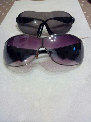 gafas de sol dos ,mujer y honbre,