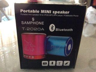 Altavoz Portable Mini speaker T-2020A samphone