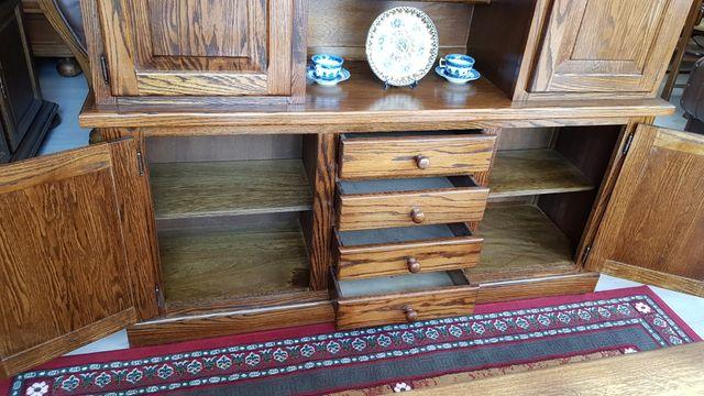 Alacena rustica de madera de Roble