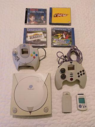 Consola Dreamcast.