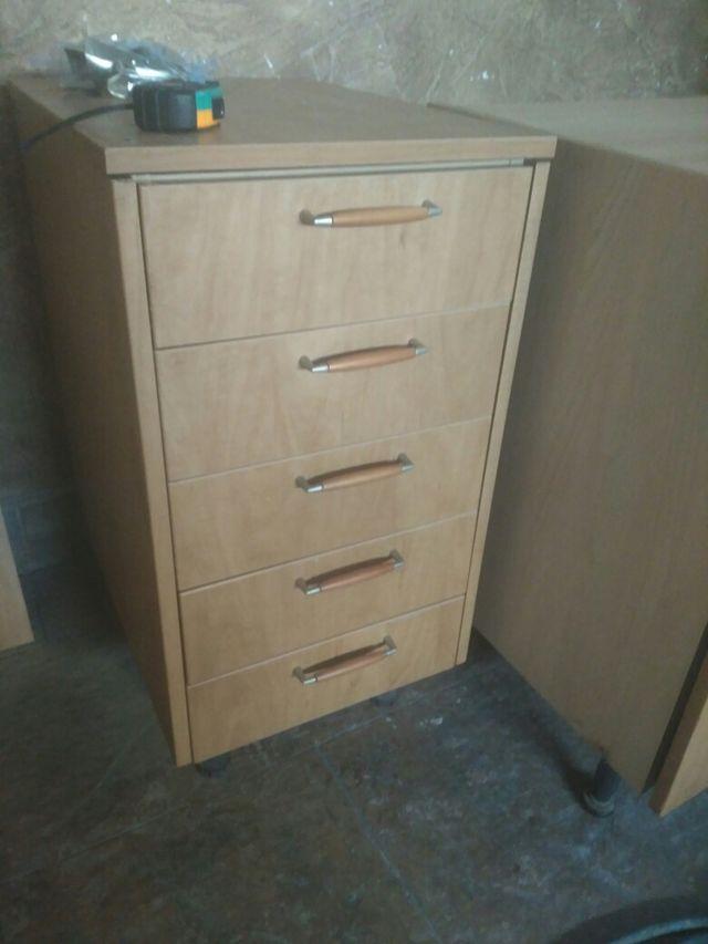 Cascos o modulos muebles de cocina color madera de segunda mano por ...