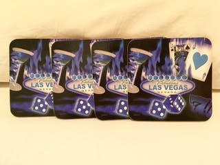 Juego posavasos Las Vegas