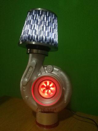 Lámpara turbo