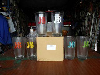6 vasos j&b