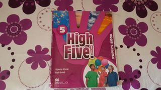 libro ingles high five 5 primaria