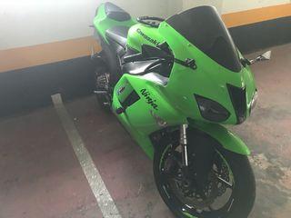 Kawasaki zx6r 07