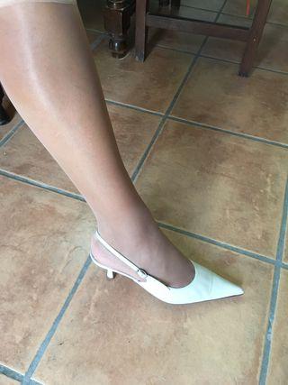 Zapatos novia/ceremonia Aire novias