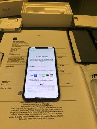 Iphone X 256gb LIBRE factura garantia febrero
