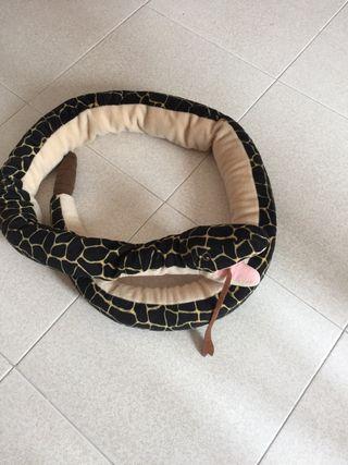 Peluche serpiente 1,80cm largo