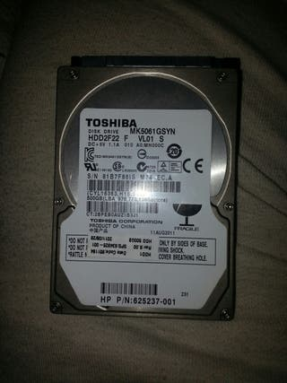 disco duro toshiba 500gb portatil