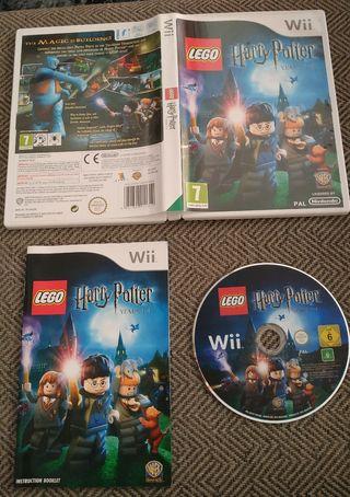 LEGO HARRY POTTER AÑOS 1 A 4 - WII