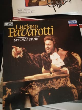 VINILO LUCIANO PAVAROTTI MY OWN STORY