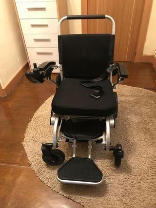 silla ruedas automatca