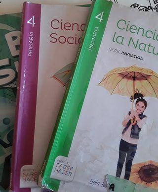 Libros de texto 4° primaria