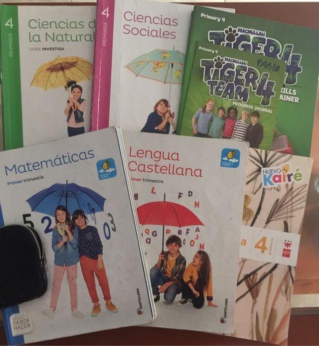 Libros de texto de 4 (cuarto) Primaria de segunda mano por 10 € en ...