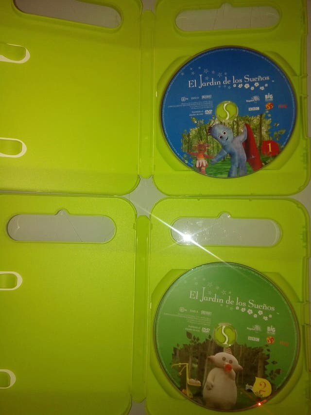 Dvd El Jardin De Los Suenos De Segunda Mano Por 3 En Solete