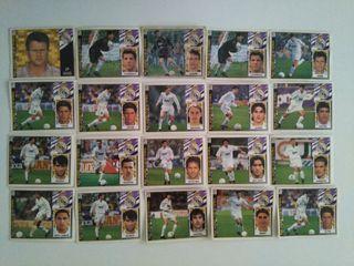 cromos Real Madrid CF liga 97-98