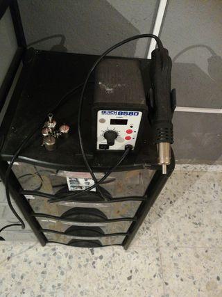 Soplador de aire caliente