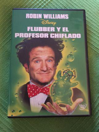 FLUBBER Y EL PROFESOR CHIFLADO