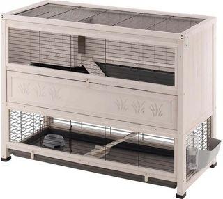 jaula roedores Cottage LARGEla más grande