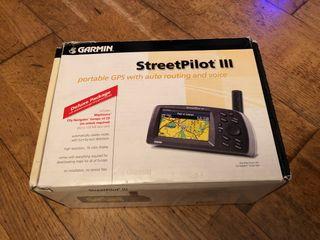GPS Garmin StreetPilot III