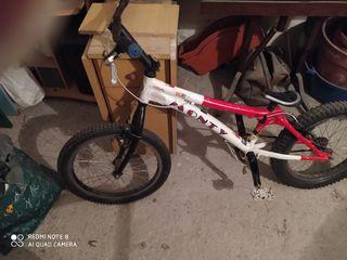 bicicleta de trial monty alp 219