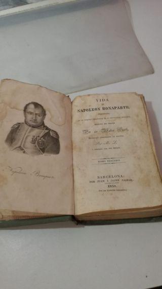 Libro vida Napoleón Bonaparte