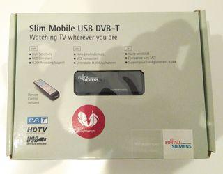 Sintonizador de TV digital USB portatil