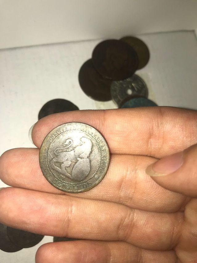 Monedas y billetes antiguos