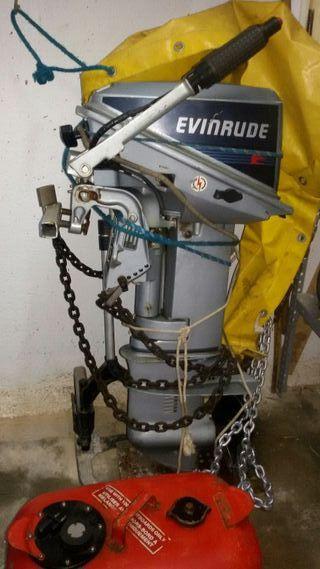 Motor fuera borda Evinrude 9,9 hp