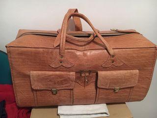 Bolsa de viaje de cuero lux de segunda mano por 70 en for Ofertas de trabajo en gava