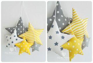 estrellas colgante - decoracion infantil