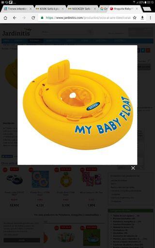 Flotador infantil hasta Baby Float tipo asiento