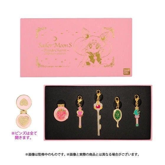 20th Sailor Moon & R S SuperS Pins & Charms