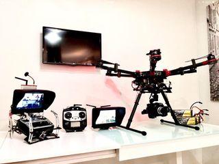 dron drone Dji s900 acepto cambios