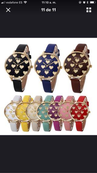 Lindos relojes de corazones nuevos