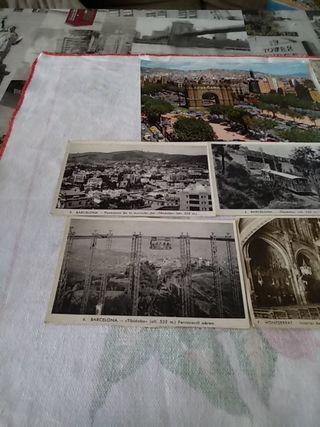 Antiguas Postales ***Barcelona Años 50-60***